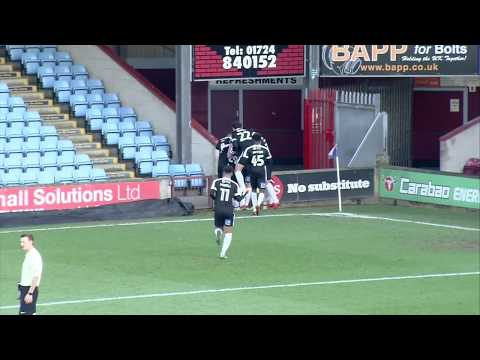 HIGHLIGHTS: Scunthorpe United 2 Northampton Town 2