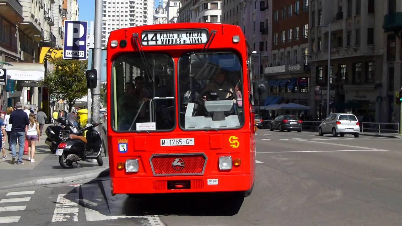 Autobus historico en el centro de madrid youtube - Centro historico de madrid ...