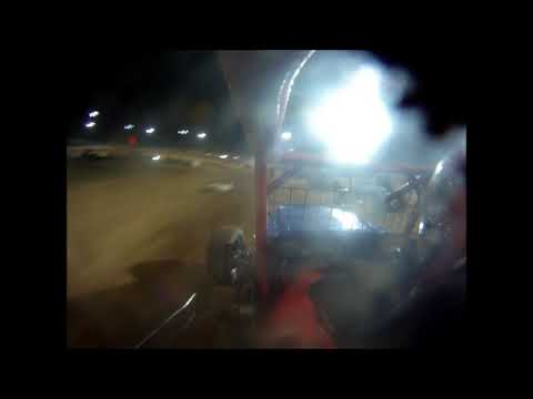 Rob Botts Lawrenceburg Speedway sprint car on board 09 03 2011 feature