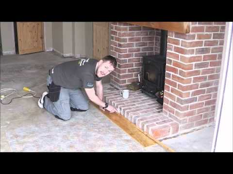 How To Install Your Laminate Wood Floor Against Brick Or
