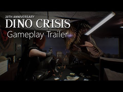 The Dino Crisis fan remake's new trailer shows off its scaly stars | PC Gamer