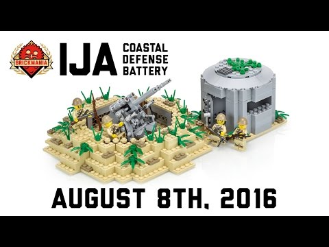 IJA Coastal Defense Pack - Custom Military Lego
