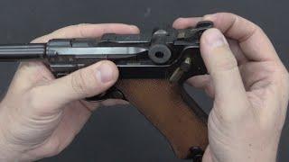 German Naval P04 Luger
