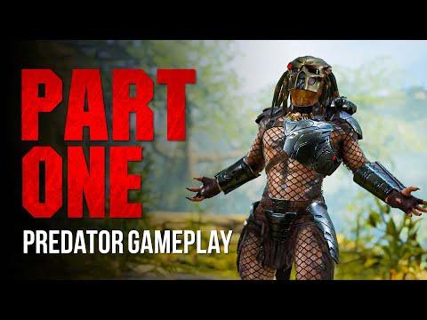 Predator Hunting Grounds playing as the Predator | Game 1 | Hunter |