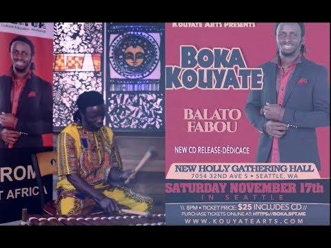 Boka Kouyate CD Release  Invite  - DEDICACE