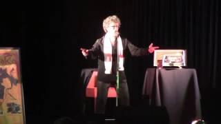Gil Aslan Chante Nougayork à l'espace Mendès France