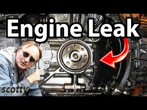 how-to-stop-a-engine-oil-leak-in-your-car-(oil-pump-seal)