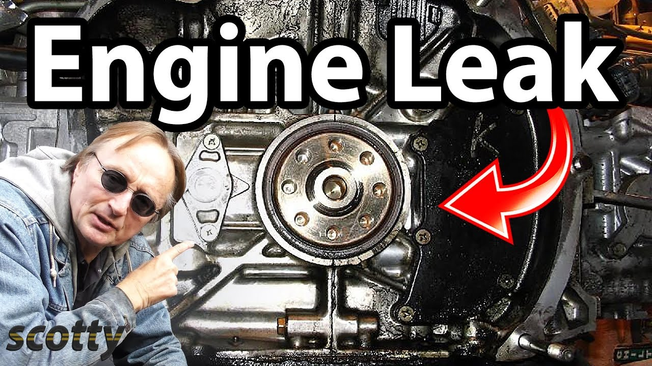 How To Stop A Engine Oil Leak In Your Car Pump Seal 2000 Pontiac Montana Diagram Head Gasket
