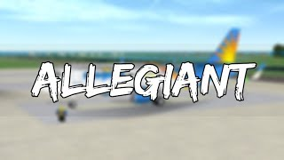 ROBLOX - France Allegiant Air A320 vol #3
