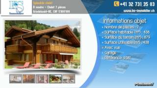 À vendre - Chalet 7 pièces Grindelwald-BE, CHF 5'800'000