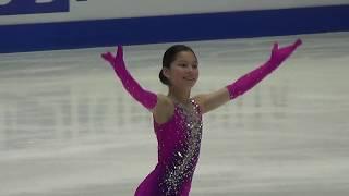 Alysa Liu Чемпионат мира среди юниоров Короткая программа