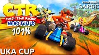 Zagrajmy w Crash Team Racing: Nitro-Fueled PL (101%) BONUS #3  - Uka Cup | Hard | CNK