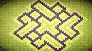 Clash of Clans - TH7 Trophy/Clan Wars Base - (The Vex)