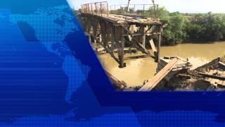 В селении Акнада Кизилюртовского района восстанавливается мост через реку Акташ