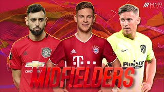 Top 10 Midfielders in Football 2021