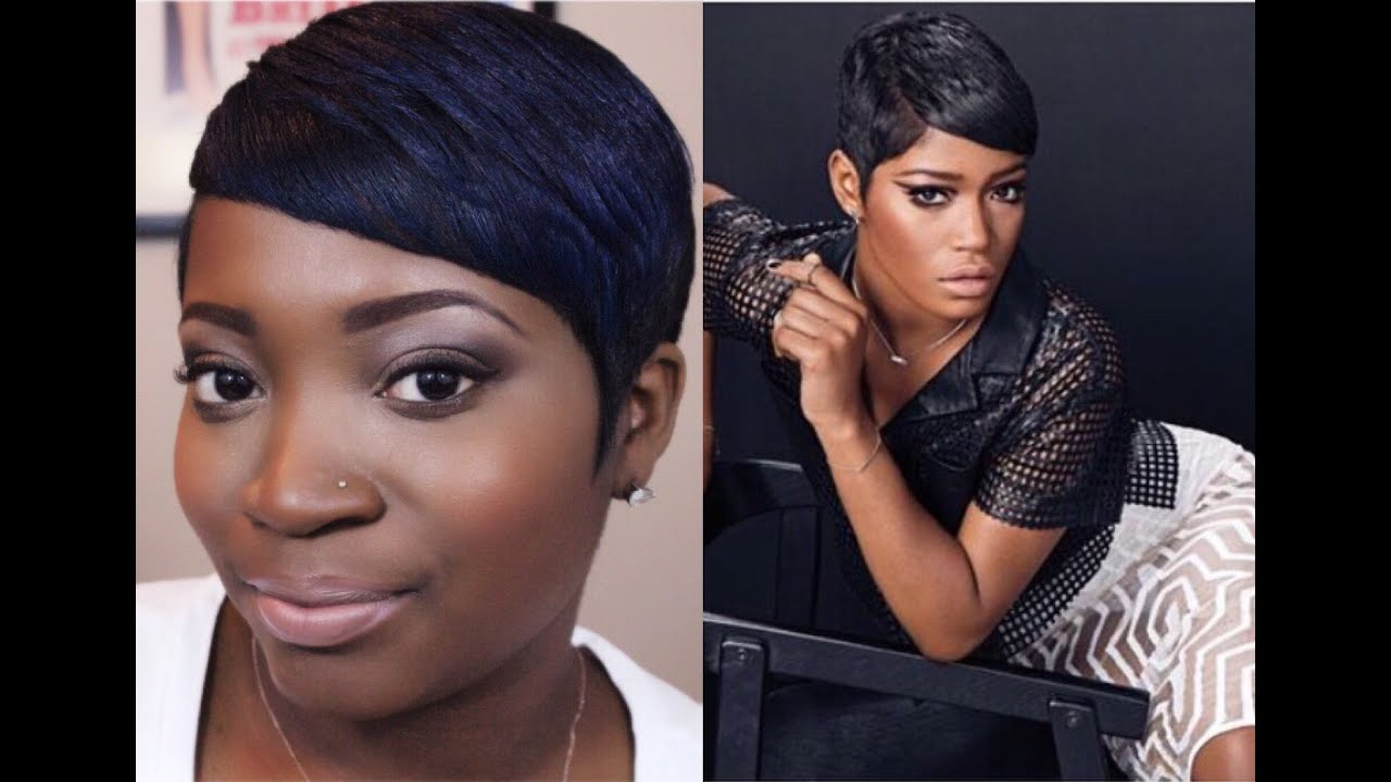 Essence Hair Style Keke Palmer For Essence Inspired Short Hair Tutorial  Youtube