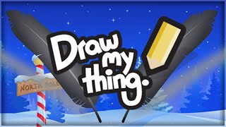 LEAF TING! | DRAW MY THING! (With Facecam)