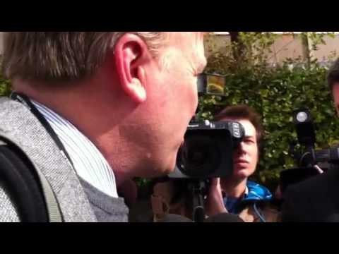 US media at courthouse (part two)