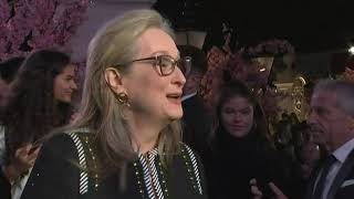 Streep jokes about top billing in next