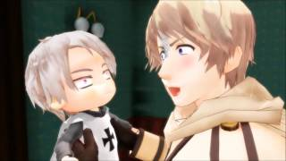 [MMD APH] Scared and Upset Hetalia Babies