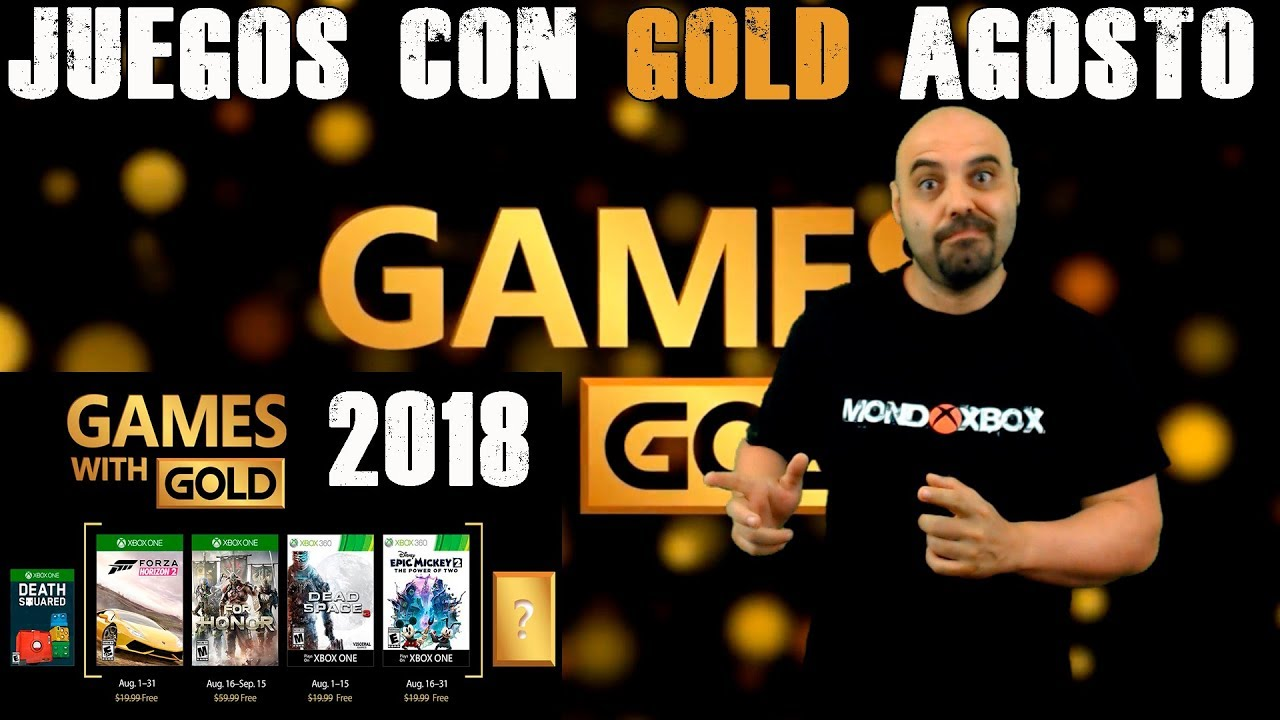 Juegos Con Gold Agosto 2018 August S Games With Gold