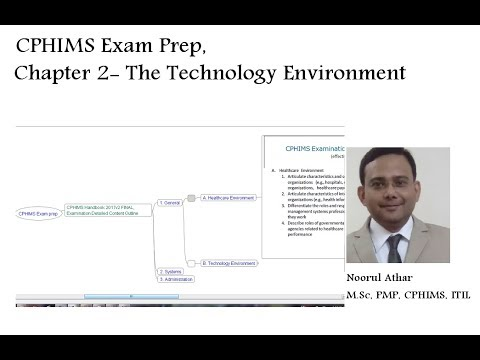 CPHIMS Exam Prep, Chapter 2 - The Technology Environment