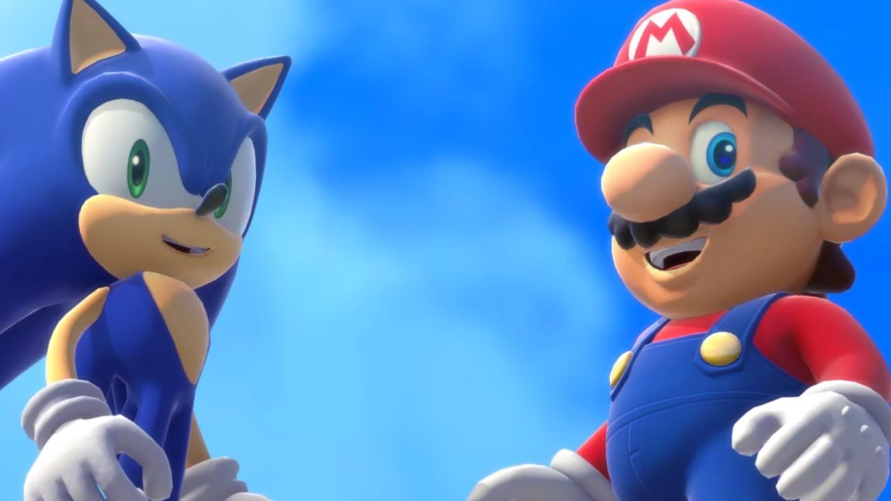 Mario & Sonic at the Olympic Games - AntDude - YouTube