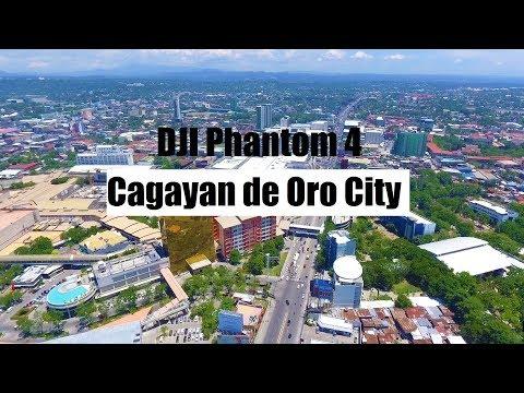 DJI Phantom 4 Footage - Cagayan de Oro Skyline