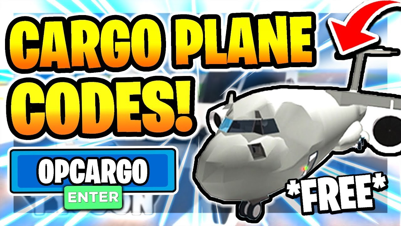 Plane Roblox Avatar All New Secret Op Cargo Plane Codes In Airport Tycoon Cargo Plane Roblox Airport Tycoon Youtube