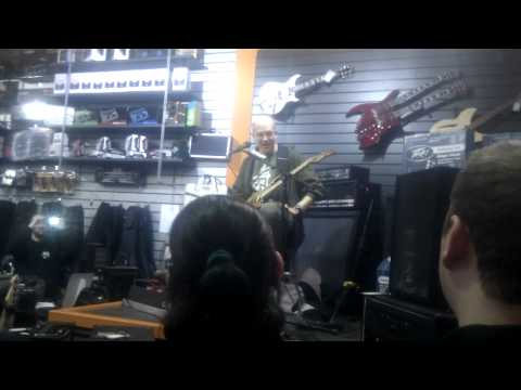 Devin Townsend Guitar Clinic Glasgow