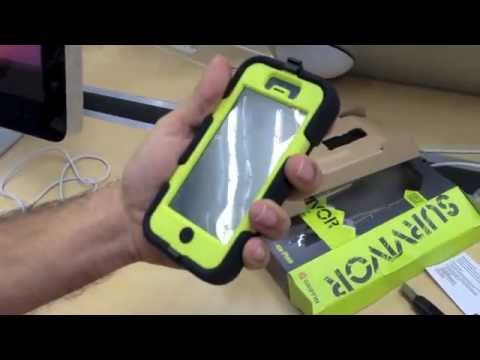 online store d4d8e 0583f Griffin Survivor for iPhone 5 (Unboxing and Review)