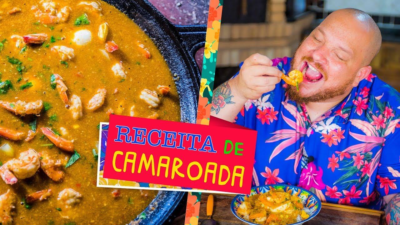 Camaroada Maranhense (receita de creme de camarão com vegetais) - Cansei de ser chef