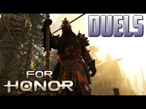 [For Honor] Lawbringer Duels With New Monitor!