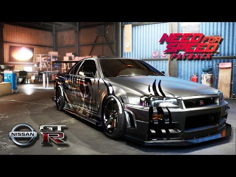 NEED FOR SPEED PAYBACK | NISSAN Skyline Samurai GT-R R34 V-spec 1999 - Customization