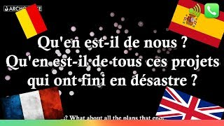 What About Us  - Pnk - HOMMAGE Attentats - TRADUCTION