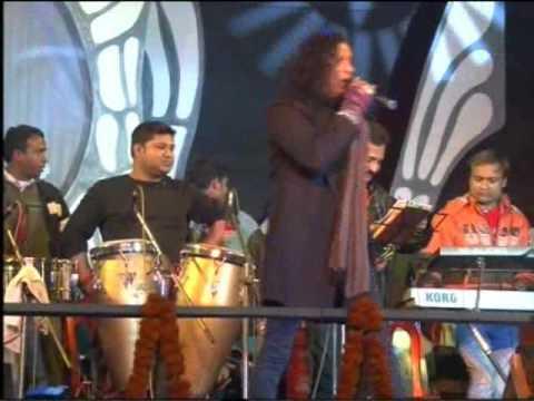 koi na chahiye live Vinod Rathod with Om Band Siliguri