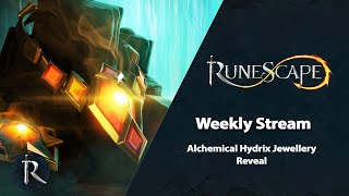 Alchemical Hydrix Jewellery Reveal - RuneScape Weekly Stream (August 2020)