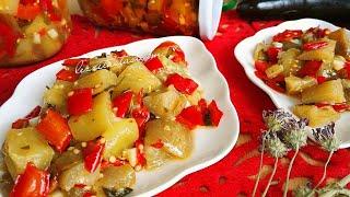 Mükemmel Tarif / Sirkeli Patlıcan Konservesi Nasıl Yapılır