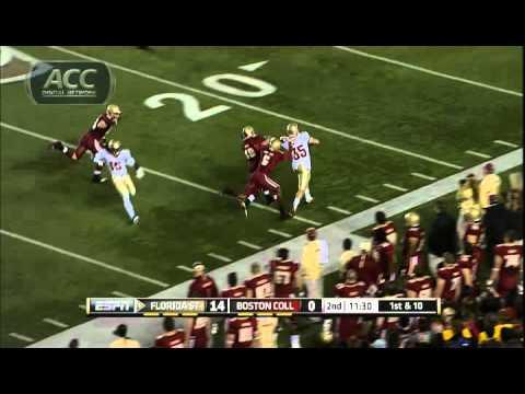 Florida State vs Boston College: 2011 ACC Football Highlights