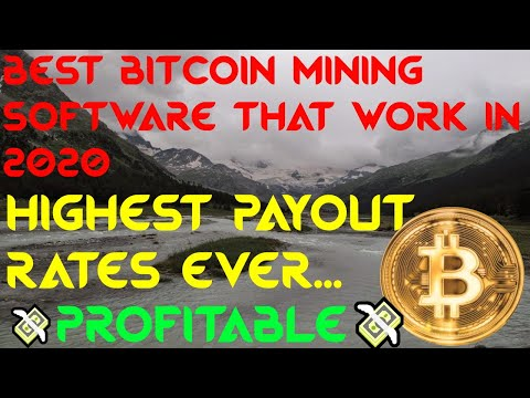 Best Bitcoin Mining Software That Work In 2020 | Profitable | Highest Payout | With Payment Proof |