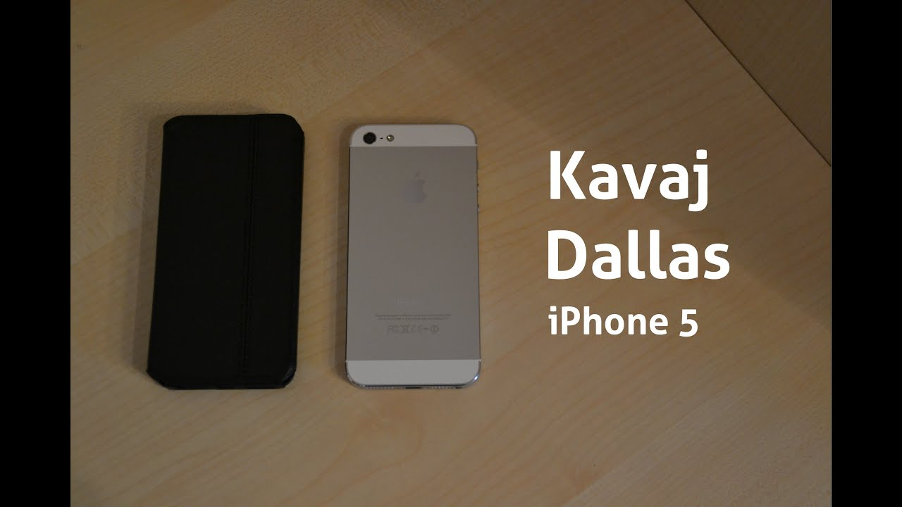 review kavaj dallas iphone 5 lederh lle youtube. Black Bedroom Furniture Sets. Home Design Ideas