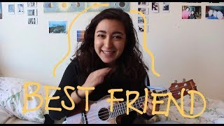 Best Friend - Rex Orange County (ukulele TUTORIAL)
