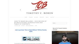 Video How to Make Millions DVD Review by @timothysykes download MP3, 3GP, MP4, WEBM, AVI, FLV Agustus 2018