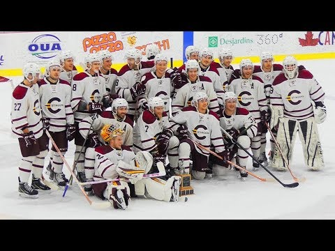 Concordia Stingers Defeat McGill Redmen for the 31st annual Corey Cup