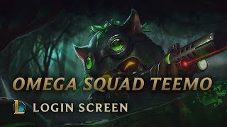 Omega Squad Teemo | Login Screen - League of Legends