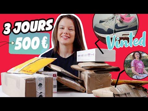 COMBIEN JE VAIS GAGNER SUR VINTED EN 3 JOURS ? (beaucoup...)   Vinted challenge - Claire