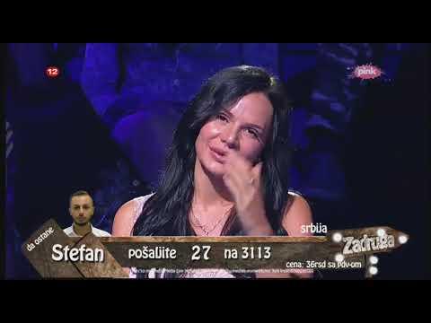 Zadruga 2 - Žestoka svađa Miljane i Aleksandre - 08.09.2018.