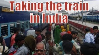 India Train Ride (High Speed Movie) Indian Railways भारतीय रेल