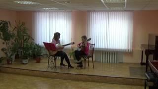 Открытый урок Музыкальная школа п.Ясногорский