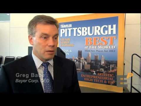 Greg Babe on Bayer's Energy Innovation -- headquartered in Pittsburgh